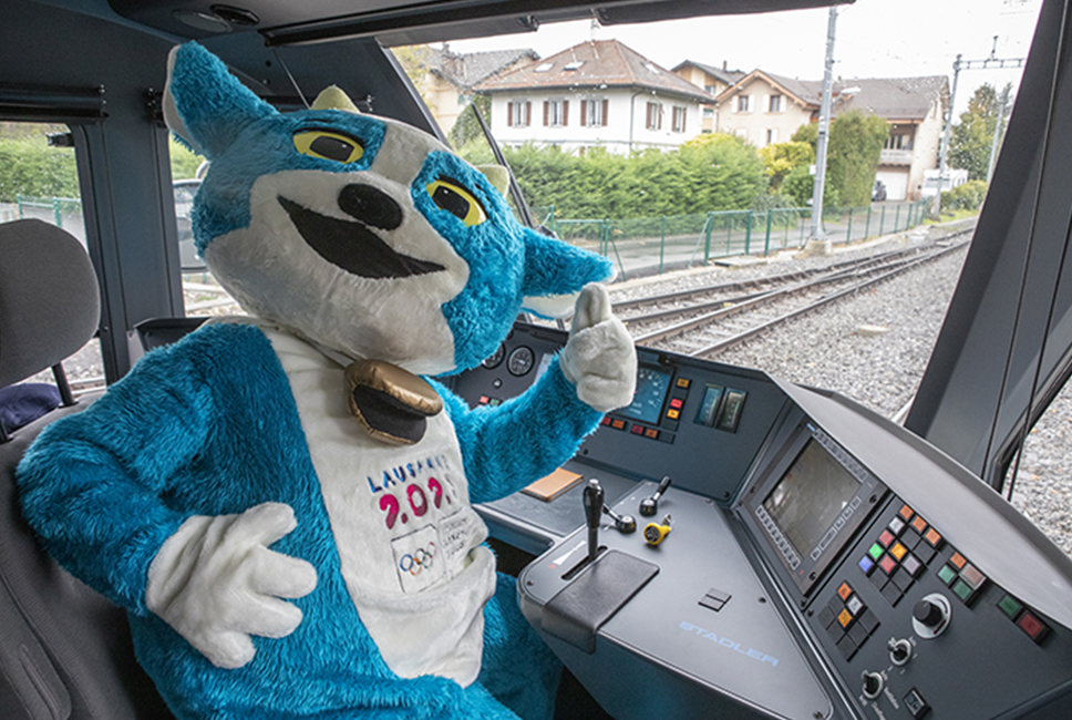 Les Jeux en transports publics c'est olympique